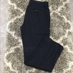 Banana Republic Navy Linen Slacks